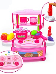 cheap -Toy Kitchens & Play Food Toys Any Shape Food & Beverages Exquisite Simulation ABS Child Adults' 22 Pieces