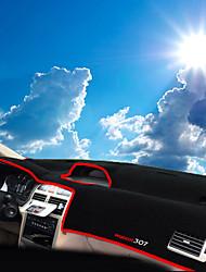 economico -Settore automobilistico Dashboard Mat Tappetini interno auto Per Peugeot Tutti gli anni 307