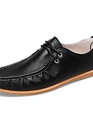 abordables -Chaussures Oxford Printemps Automne Chaussures de plongée Confort Oxfords pour Décontracté Noir Jaune Rouge
