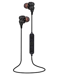 preiswerte -S12 Sport Bluetooth Kopfhörer Kopfhörer Halskette Dual-Lautsprecher-Laufwerk tragbare wasserdichte drahtlose Kopfhörer Ohrhörer