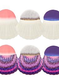 billige Rougebørster-1pc Makeup børster Profesjonell Rougebørste Nylon Børste / Syntetisk hår / Andre Økovennlig / Profesjonell / Myk Plast