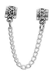 Недорогие -Ювелирные изделия DIY 1 штук Бусины Сплав Серебряный Цилиндр Шарик 0.5 cm DIY Ожерелье Браслеты
