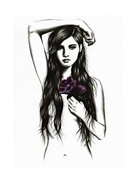 Недорогие -Стикер татуировки рука / плечо Временные татуировки 1 pcs Как на фотографии Искусство тела Повседневные