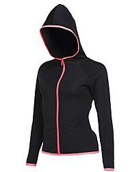 abordables -Tous Tee-shirt de Course Manches Longues Séchage rapide Shirt pour Course / Running Coton Rose / Gris / Bleu royal L / XL / XXL