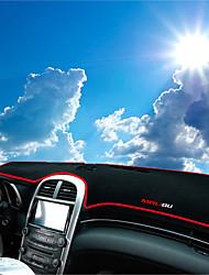 Недорогие -автомобильный Маска для приборной панели Коврики на приборную панель Назначение Chevrolet 2012 2013 2014 2015 Malibu