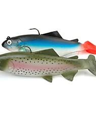 economico -1 pc Esca Esche morbide g / Oncia mm pollice, Plastica Pesca di mare Pesca a mulinello Pesca con esca