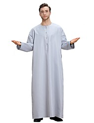 preiswerte -Herrn - Solide Retro Freizeit Abaya