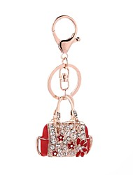 cheap -Keychain Jewelry Red Pink Handbag Alloy Casual Fashion Gift Daily Women's