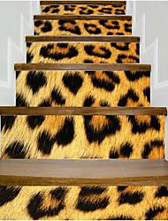 Недорогие -Абстракция Животные Наклейки Корпус Простые наклейки 3D наклейки Декоративные наклейки на стены Свадебные наклейки, Винил Бумага