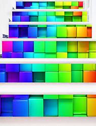 Недорогие -Животные фантазия Наклейки Корпус Простые наклейки 3D наклейки Декоративные наклейки на стены Свадебные наклейки, Винил Бумага Украшение