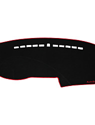 abordables -Automobile Matrice de tableau de bord Tapis Intérieur de Voiture Pour Audi 2008 2009 2010 2012 2013 2014 2015 Q7