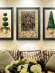 baratos -Vida Imóvel Arte de Parede,Poliestireno Material com frame For Decoração para casa Arte Emoldurada Sala de Estar