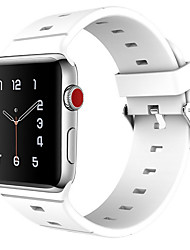 cheap -Watch Band for Apple Watch Series 3 / 2 / 1 Apple Sport Band Classic Buckle Silicone Wrist Strap