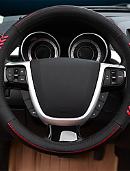 cheap -Automotive Steering Wheel Covers(Leather)For Ford All years Escort Mondeo Kuga Ecosport Edge Focus