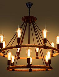 Недорогие -Подвесные лампы Рассеянное освещение Окрашенные отделки Металл Мини 110-120Вольт / 220-240Вольт Лампочки не включены / FCC