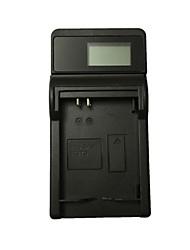 abordables -ismartdigi 1137d lcd usb caméra chargeur de batterie pour samsung 1137d l74 large nv106hd 103 40 11 i100 i85 batterie