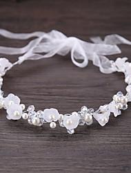 cheap -Alloy Rhinestone Crystal Imitation Pearl Metallic 1pc Wedding Special Occasion Headpiece