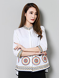 cheap -Women's Cotton Shirt - Embroidery Stand