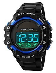 cheap -SKMEI Men's Digital Sport Watch Chinese Calendar / date / day Water Resistant / Water Proof Casual Watch Noctilucent Stopwatch Plastic