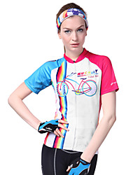cheap -Nuckily Women's Short Sleeve Cycling Jersey - Camouflage Bike Jersey, Ultraviolet Resistant, Breathable, Sweat-wicking Polyester, Lycra