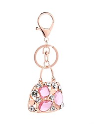 cheap -Keychain Jewelry Pink Handbag Alloy Cute Casual Gift Daily Women's