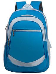 baratos -Crianças Bolsas Tecido Oxford Poliéster mochila Ziper para Casual Todas as Estações Azul Verde Azul Escuro Fúcsia