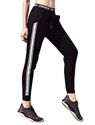 abordables -Femme Cordon / Sarouel Pantalons de Course - Rouge, Vert, Gris Des sports Pantalon / Surpantalon Tenues de Sport Séchage rapide,