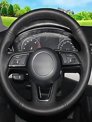 Недорогие -автомобильные крышки рулевого колеса (кожа) для модели audi 2017 a4l strip