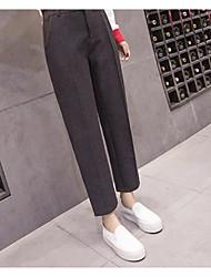 cheap -Women's Harem Loose Pants - Solid Low Rise