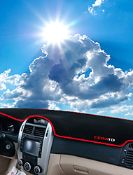 Недорогие -автомобильный Маска для приборной панели Коврики на приборную панель Назначение Kia Все года Cerato