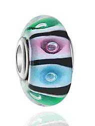baratos -Jóias DIY 1 pçs Contas Esmalte Colorido Liga Arco-íris Redonda Bead 0.5 cm faça você mesmo Colar Pulseiras