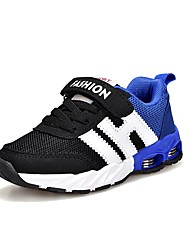 abordables -Garçon Chaussures Similicuir / Polyuréthane Printemps / Automne Confort Chaussures d'Athlétisme Course à Pied Lacet / Scotch Magique pour