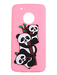 cheap -Case For Motorola MOTO G5 Plus MOTO G5 Pattern Panda Soft for