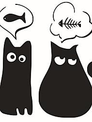 Недорогие -Животные Мода Наклейки Простые наклейки Декоративные наклейки на стены, Винил Украшение дома Наклейка на стену Окно Стена