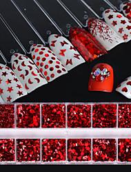 cheap -Nail Glitter Sequins Luxury Sparkle Classic Fashion High Quality Daily Nail Art Design