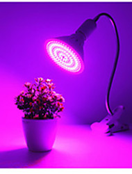 cheap -1pc 260Led 190Red 70Blue Grow Light Led Plant Flower Vegetable Growing lights with Desk Holder Clip