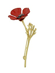 preiswerte -Damen Broschen Schmuck Strass Einfach Modisch Aleación Blume Schmuck Für Alltag Ausgehen