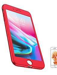 Недорогие -Кейс для Назначение Apple iPhone 8 / iPhone 8 Plus Матовое Чехол Однотонный Мягкий ТПУ для iPhone 8 Pluss / iPhone 8 / iPhone 7 Plus