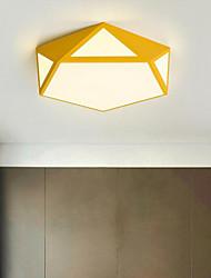 baratos -Montagem do Fluxo Luz Ambiente 110-120V / 220-240V, Branco Quente / Branco / 10-15㎡ / Led Integrado
