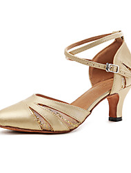cheap -Modern Leatherette Sneaker Trim Stiletto Heel Gold Silver Customizable