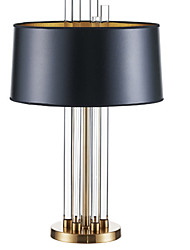 cheap -Contemporary Crystal Table Lamp For Bedroom Crystal Black