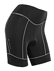 cheap -WEST BIKING® Cycling Padded Shorts Women's Bike Padded Shorts/Chamois Shorts Bottoms Bike Wear Breathable Reflective Strips 3D Pad Solid