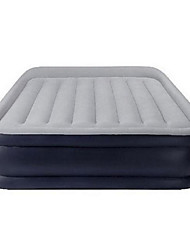 cheap -Air Mattress Portable Foldable Compact Stretchy Travel Rest PVC Flocking for Camping Camping / Hiking / Caving All Seasons