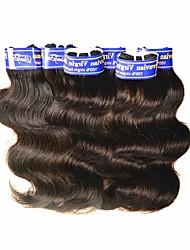 baratos -barato 7a peru virgem humano cabelo corpo onda 6bundles 300g lote para um cabelo de garota negra tece cor natural preto boa qualidade