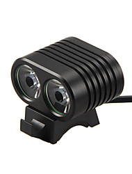 cheap -LED Light LED 8000lm 2 Mode Glossy / Fastness / Pro Camping / Hiking / Caving / Everyday Use / Cycling / Bike