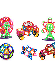 cheap -Magnetic Blocks Building Blocks 151pcs Square Circular Car Transformable Parent-Child Interaction Classic & Timeless Chic & Modern