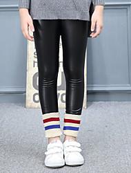 abordables -Fille Actif Couleur Pleine Coton / Fibre de bambou Pantalons / Mignon