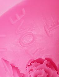 Недорогие -1шт Силикон Экологичные День Святого Валентина Своими руками Торты Печенье Пироги выпечке Mold Инструменты для выпечки