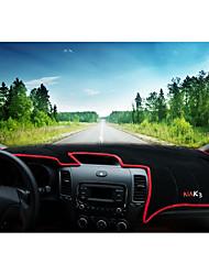 Недорогие -автомобильный Маска для приборной панели Коврики на приборную панель Назначение Kia Все года K3