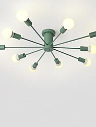 Недорогие -10-Light Монтаж заподлицо Рассеянное освещение Металл 110-120Вольт / 220-240Вольт Лампочки не включены / E26 / E27